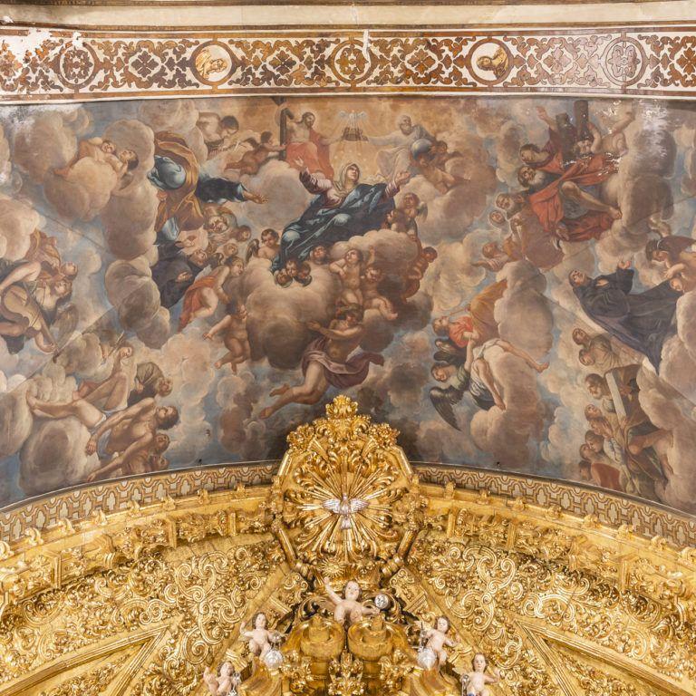 Pinturas Basílica de San Juan de Dios en Granada - Barroco español