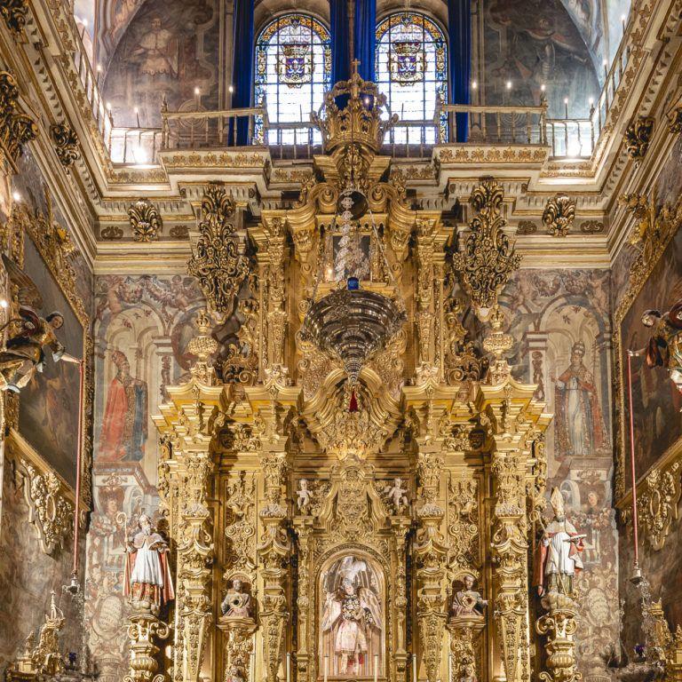 Lateral derecho Basílica de San Juan de Dios en Granada - Barroco español
