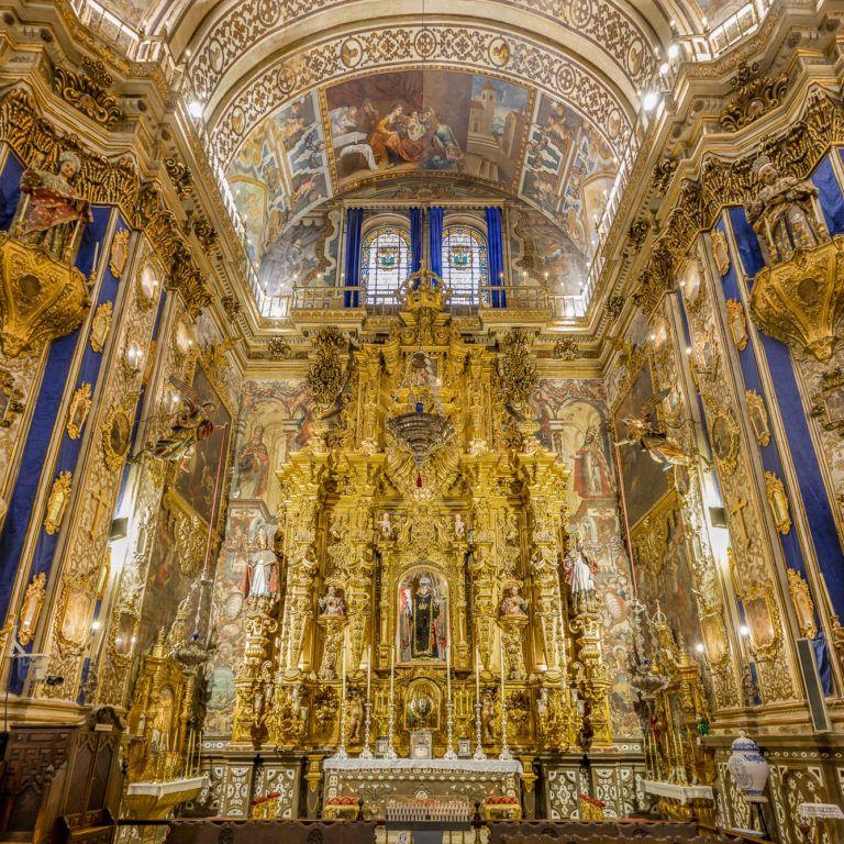 Lateral izquierdo Basílica de San Juan de Dios en Granada - Barroco español